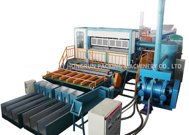 Chiny 6000pcs/h Automatic Paper Pulp Molding Machine , Coal Egg Tray Making Machine dostawca