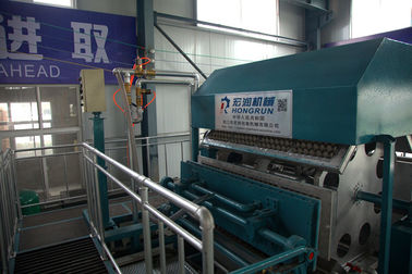 High Efficiency Fruit Pallet Egg Tray Production Line , Apple Tray Machine