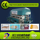 Chiny Automatic Rotary Egg Tray Machine , Fully Roller Egg Boxing Machine Line 2000pcs/hr fabryka