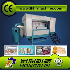 Chiny 1000pcs/hr Semi-Automatic  egg tray making machine dystrybutor