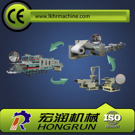 Chiny Food Packaging Plastic Container Production Line , automatic PS foam plate making machine dystrybutor